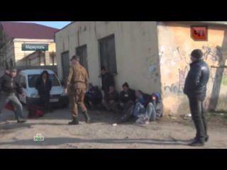 Весенний призыв на Украине: новобранцы перепились и подрались у военкомата